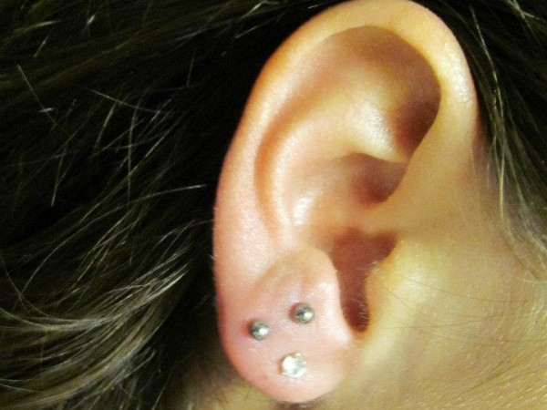 high-risk piercings - earlobes