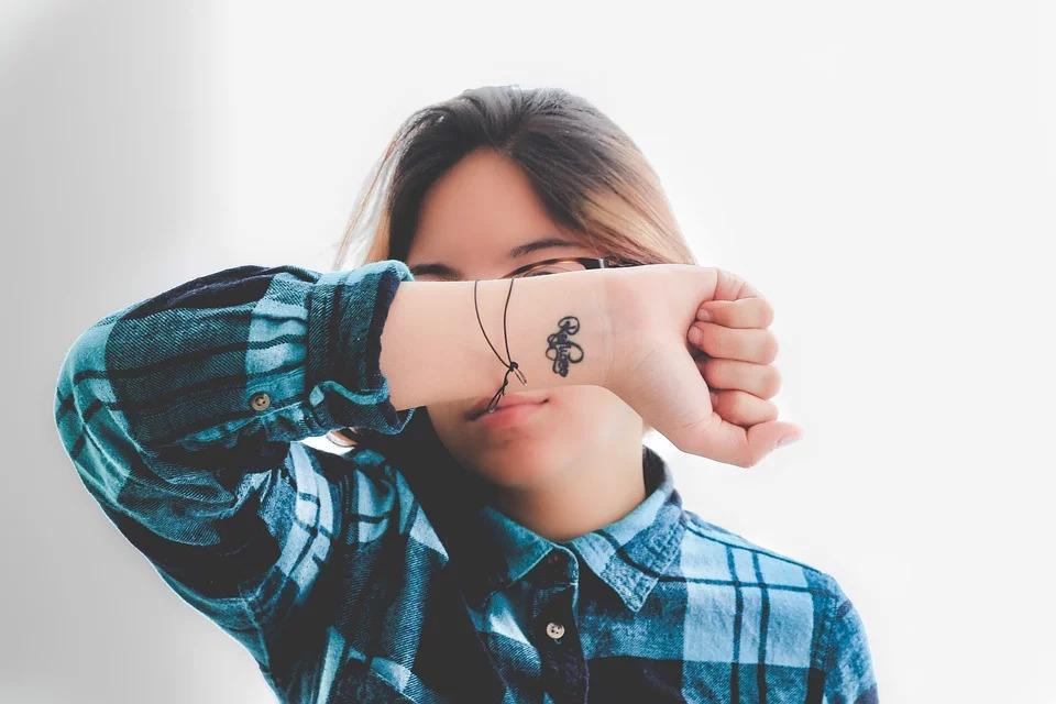 aging of tattoos: small tattoos