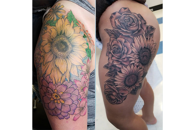 Black and Gray Tattoos vs. Color Tattoos